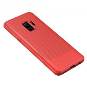 with Air Cushion Technology and Hybrid Drop Protection for Samsung S9 Plus - RED