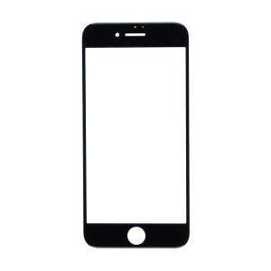 iPhone 8 Glass Lens Screen - Black