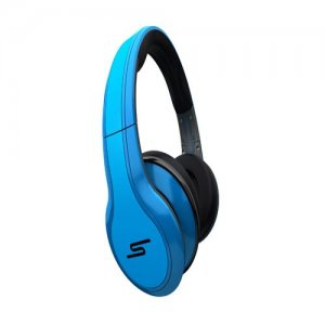 SMS Audio STREET by 50 Cent Wired Over-Ear Headphones – Blue