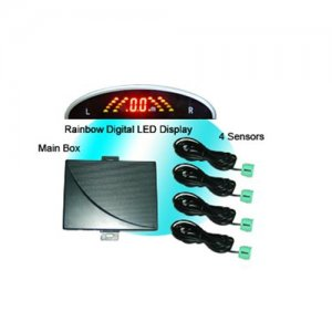 RD039C4 Rainbow LED Display Parking Sensor