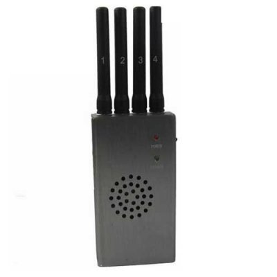 Portable High Power 3G 4G Cell Phone Jammer with Fan