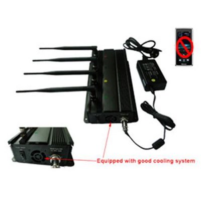 Mobile Phone Signal Jammer Able To Be Used In Car + 40 Meter Range