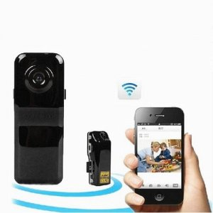 WIFI/IP Mini Pocket-sized 7725 CMOS Spy Camera DVR iPhone Android Phone Support