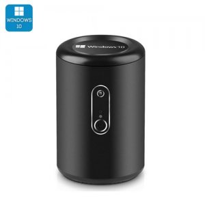"Intel Windows 10 Mini PC ""Win Pro G2"" - CR Z3735F Quad Core CPU, Bluetooth 4.0, Wi-Fi, 2MP Camera (Black)"