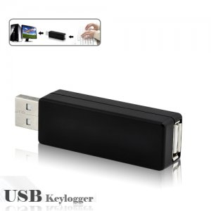 Undetectable Spy Hardware USB Keylogger for Secretly Recording