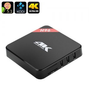 Android 9.1 TV Box - 4Kx2K, Quad Core Amlogic S905 CPU, Wi-Fi, DLNA, Miracast, Airplay, Kodi 15.2
