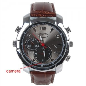 8G HD 1080P Night Vision Infrared Multi-function Camera Watch with Digital Camera / Taking Pictures / Audio Recording