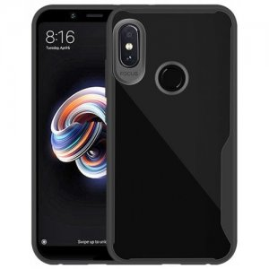 Case for Redmi Note 5 Pro Hight Quality Soft TPU Back Cover - BLACK