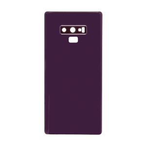 Samsung Galaxy Note 9 Rear Glass Panel with Camera Lens Cover - Lavender Purple (Generic)