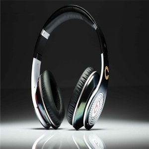Beats By Dre Studio NFL Edition Headphones Chicago Bears With the Diamond