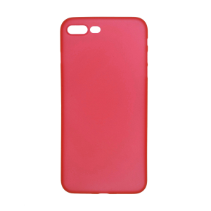 iPhone 7 Plus/8 Plus Ultrathin Phone Case - Frosted Red