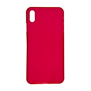 iPhone XS Max Ultrathin Phone Case - Frosted Red