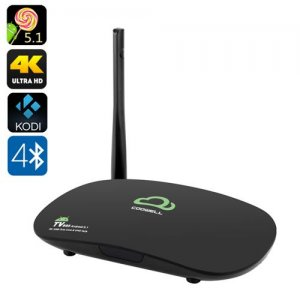 4K Android 9.1 TV Box - Octa Core RK3368 CPU, 2GB RAM, Kodi, 2.4GHz Wi-Fi, Ultra HD Output, DLNA, Miracast, Airplay