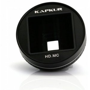 KAPKUR Anamorphic Lens for iPhone XS MAX 2.55-1 Widescreen Film Making 1.33X - BLACK