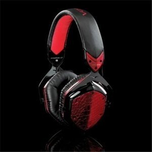 V-moda Inline Volume Control Crossfade LP Red