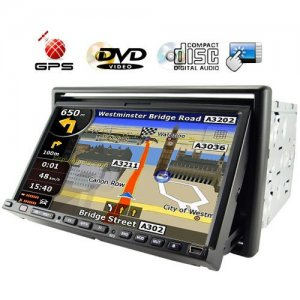 7 Inch 2-DIN Touch Screen Car DVD Player Support GPS Navigation