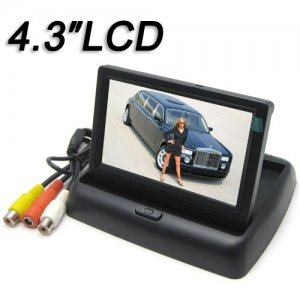 4.3 Inch 2-channel Video Input TFT-LCD Monitor with 960H x 240V Resolution