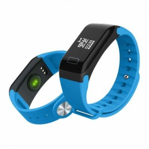 Intelligent Sports Bracelet Heart Rate Blood Pressure Monitoring Waterproof Step - COBALT BLUE