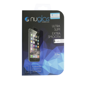 NuGlas Tempered Glass Screen Protector for iPhone 6/6s (2.5D)