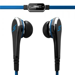 SMS Audio STREET by 50 Earbuds In-Ear – Black