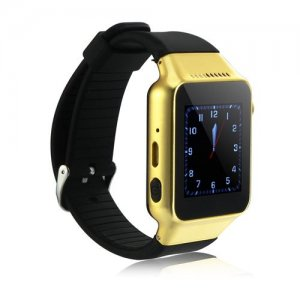 ZGPAX S39 Smart Watch Phone 1.54 Inch Touch Screen Bluetooth Camera FM - Golden