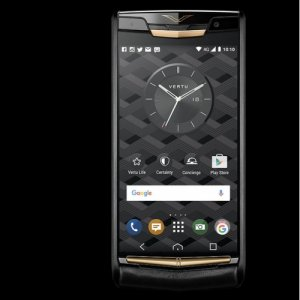 Vertu Signature Touch Pure Jet Red Gold Clone Android 9.1 Snapdragon 821 4G LTE luxury Phone