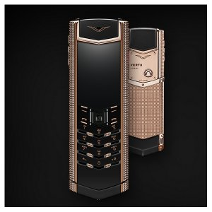 Vertu Signature CLOUS DE PARIS RED GOLD 2GB RAM 16GB ROM luxury Phone