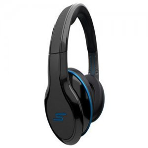 SMS Audio STREET by 50 Cent Wired On-Ear Headphones – Black