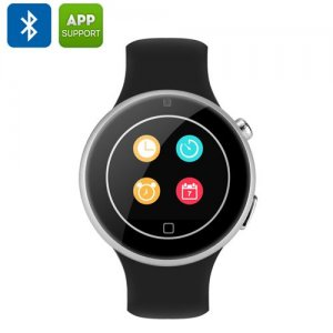 C5 Sports Smart Watch Phone - 1.22 Inch Display, MTK2502, Music Play, Pedometer, Heart Rate Monitor, Remote Camera Trigger
