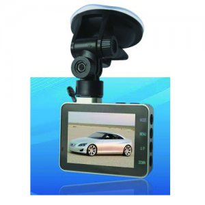 1080P Full HD Car DVR 2.8 Inch Monitor SD/MMC Card- F-302A