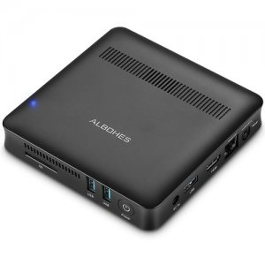 ALBOHES V9 MINI PC with Dual-band WiFi - BLACK