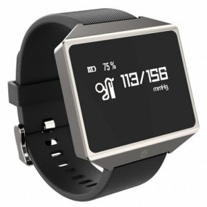 GF1S Smart Bracelet 1.3 inch Texas Instruments TI 16KB RAM 256KB ROM Heart Rate Monitor Step Count Sedentary Reminder 180mAh Built-in - BLACK