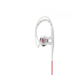 Beats By Dr Dre PowerBeats Clip-On White Headphones