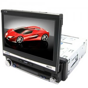 7 Inch Wide Touch Screen Car DVD - TV + SD / MMC + GPS
