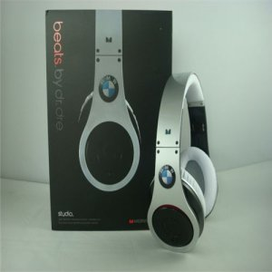 Monster Beats By Dr Dre BMW Headphones Silver Black
