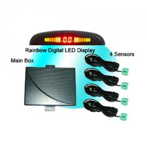 RD037C4 Rainbow LED Display Parking Sensor