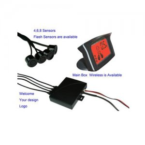 SNRD058C4 Speaker Colorful LCD Display Parking Sensor