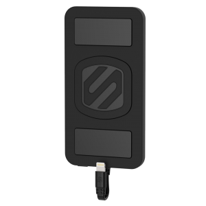 Scosche Magnetically Mounted Portable Power Bank for Lightning Devices - Black