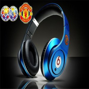 Monster Beats By Dr Dre Studio Manchester United Blue