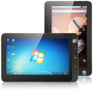 Gemini Pro Tab 10.1 Inch Dual OS Tablet PC window 10 + Android 9.1 32GB SSD 2GB Gray