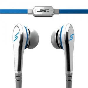 SMS Audio STREET by 50 Earbuds In-Ear – White