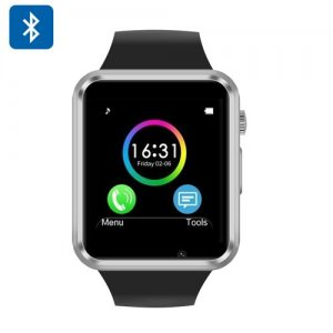 Smart Watch Phone - GSM, Phone Call, SMS, Remote Camera Trigger, Sleep Monitor, Step + Calorie Counter
