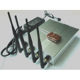 Mobile Phone Signal Jammer with Remote Control - Output Power Adjustable