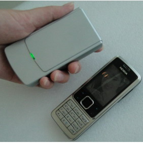 Mini Portable Cellphone and GPS Signal Jammer