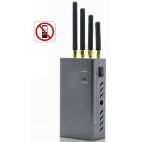 Professional Portable Cell Phone Jammer with Good Cooling System - Professional Blocking Cell Phone 2G 3G Signal