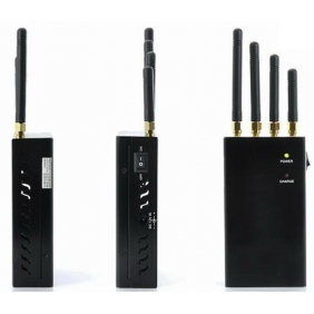 Portable Wireless Bug Camera Signal Jammer - Block Wireless Cammera Video Spy Camera Bluetooth and Wifi Signal