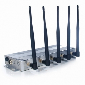 New 5 Bands Cell Phone Jammer Wifi Jammer - Professional for Blocking 2G 3G and Wifi Signals
